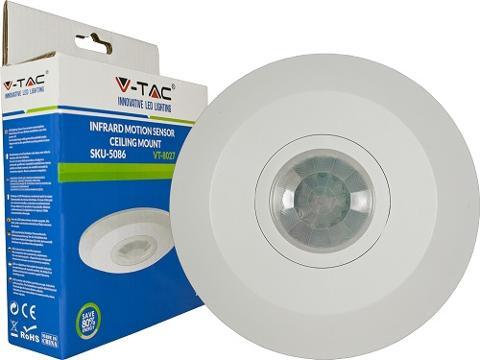 Sensore Movimento Crepuscolare a tetto V-TAC