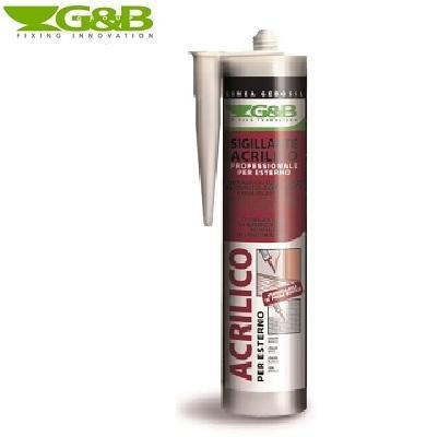 Sigillante Acrilico Bianco Professionale 310ML