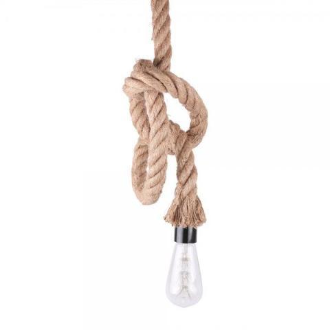 Sospensione in corda E27 1,5mt LIN