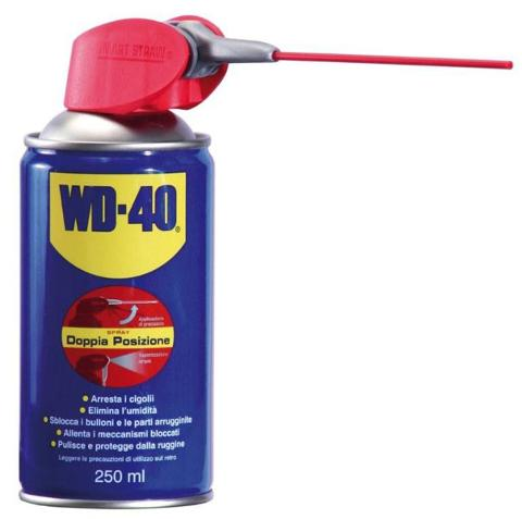 Spray Sbloccante Detergente 250ml 5 in 1 WD-40 WD40