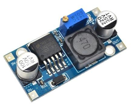 step-down DC-DC 3A IN 4,5-40 Vdc Out 1,23-30 Vdc