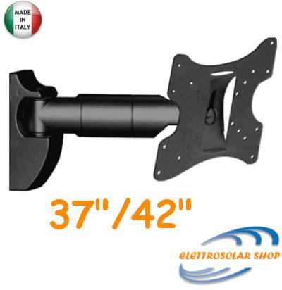 Supporto LCD 1 Snodo da 14 a 42 Pollici Portata Max 30Kg NVS LCD24