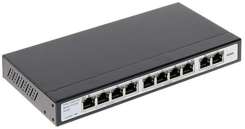 Switch 8 Porte POE + 2 Porte Uplink 10/100/1000