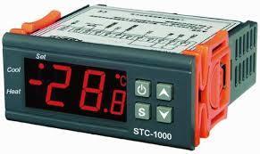 Termostato Digitale Riscaldamento Raffreddamento con sonda sensore NTC 220Vac  SCT-1000-220