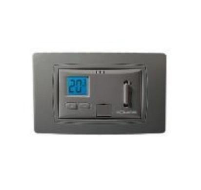 Termostato elettronico da incasso con display CENTAURY i Antracite Solaris CENTAURY i
