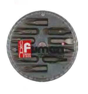 Assortimento 10 Inserti 1/4'' magnetici Fumasi 263101