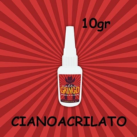 Colla Gringo Cianoacrilato 10gr Gringo