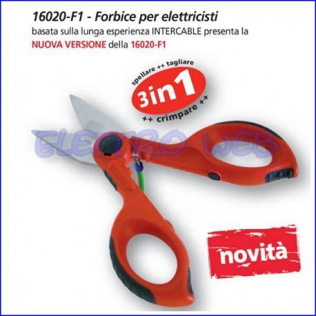 Forbice Spella e Tranciacavi 3in1 Intercable F1