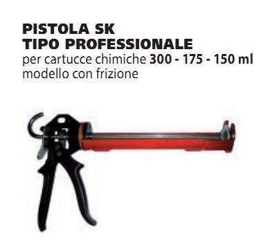 Pistola per silicone professionale G&B Fissaggi