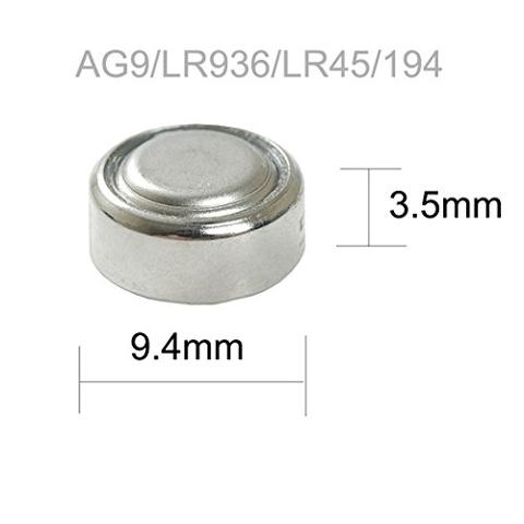 Batteria a Bottone 1,5V LR45 394 AG9