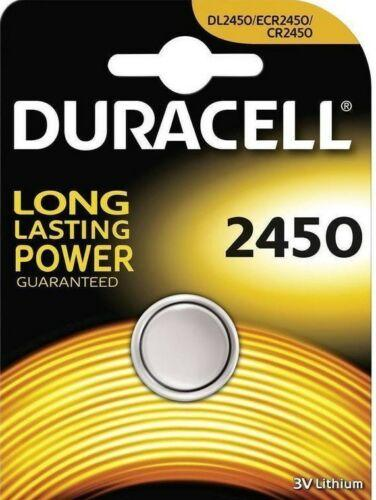 Batteria a Bottone 3V 2450 Duracell DL2450