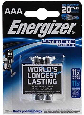 Batteria MiniStilo Litio 1,5V Energizer Ultimate Lithium Energizer