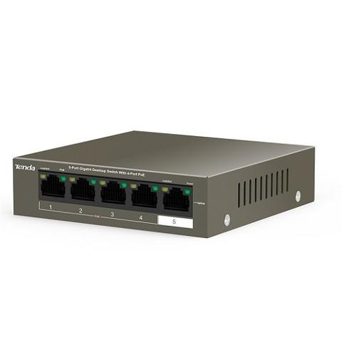 Switch 4 Porte POE Gigabit Tenda