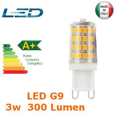 Lampada LED G9 3w Luce Fredda 300 Lumen V-TAC