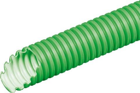 Tubo Pieghevole Pesante Diam. 25 Verde (Telefonia) Elettrocanali