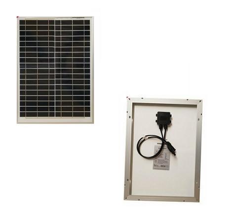 Pannello Solare Fotovoltaico 20w 12v Policristallino