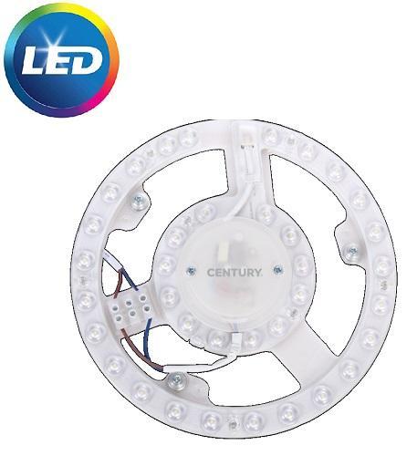 Circolina LED Diam.218 18w Luce Natura 1650 Lumen Century
