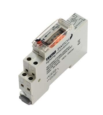 Timer 24h 1 Modulo Din Tecnoswitch