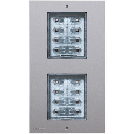 Modulo pulsanti per pulsantiera CIAO da 2 a 16 chiamate Comelit