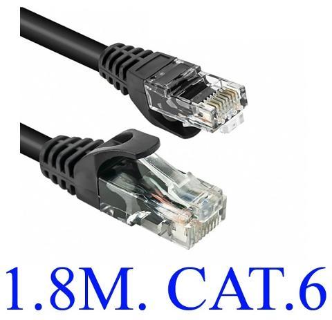 Cavo di rete Cat 6 1,8mt TRUSTECH