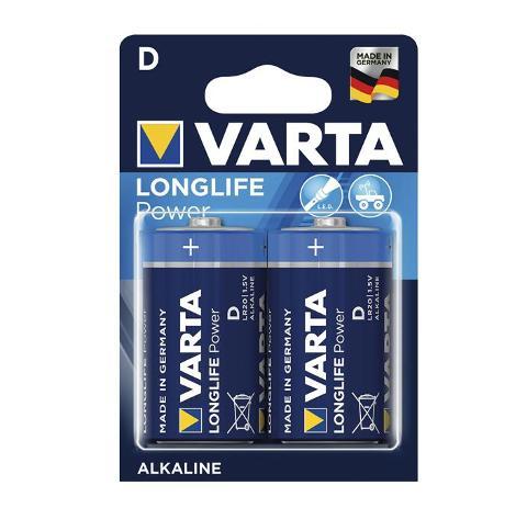 Batteria Torcia Alcalina Varta Longlife Power Varta