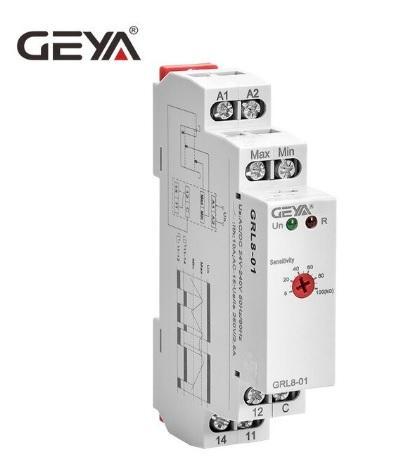 Relè controllo livello Liquidi 24-220V 1 Mod. GEYA