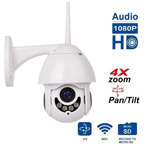 Telecamera Speed Dome IP WiFi SMART CAM 20655 - Bolognetta (Palermo)