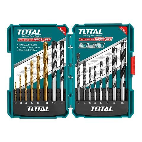 Set 16 Punte Assortite x Muro, legno e metallo TOTAL 4740400001