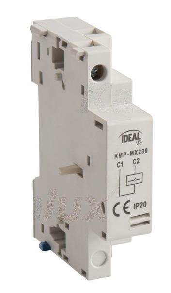 Interruttore con apertura a lancio di corrente per Contattore KMP Kanlux