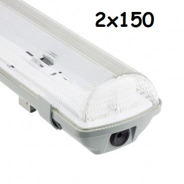 Plafoniera IP65 1x150cm Per neon LED Iperlux