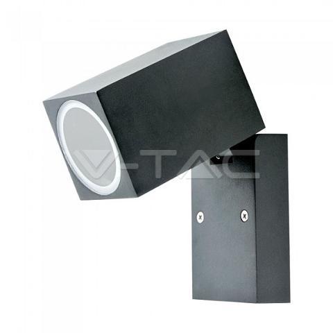 Applique LED GU10 Nero IP44 V-TAC