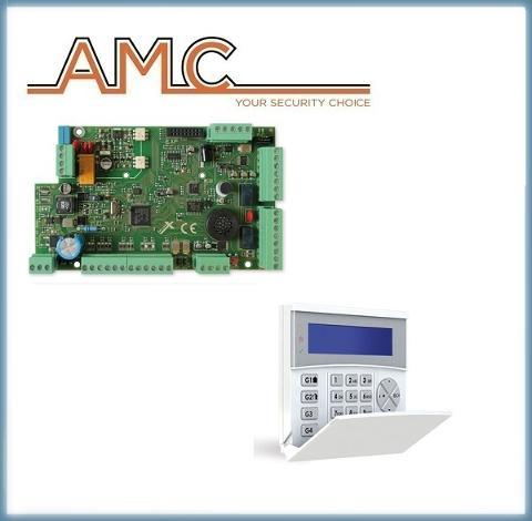 Centrale X824 con Tastiera KLCD BLUE AMC Elettronica X824+KLCD
