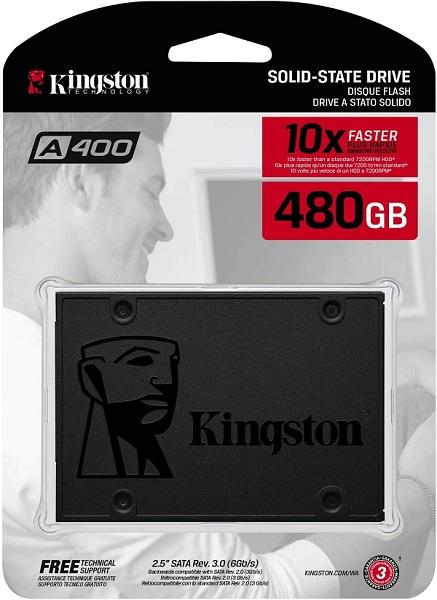 Hard Disk SSD 480Gb Sata Kingston