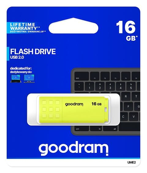 Pen Drive 16Gb USB 2.0 Goodram