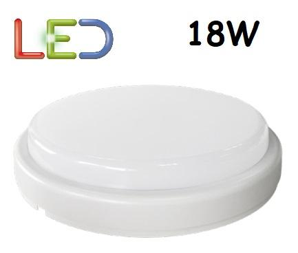 Plafoniera LED Rotonda 18w Luce Natura 1350 Lumen Iperlux