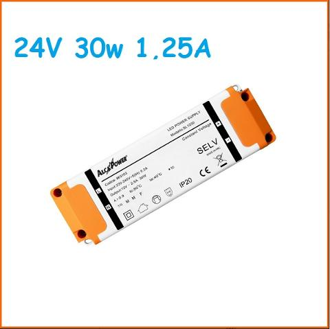 Led Driver Slim 24v 30w 1,25A Alcapower