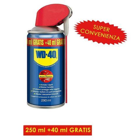 Spray Sbloccante Detergente 250+40ml 5 in 1 WD-40 WD40