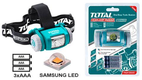 lampada LED da Testa 50-200 Lumen TOTAL