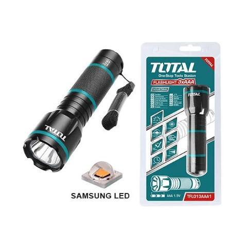 Torcia LED in alluminio 200 Lumen TOTAL