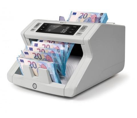 Conta e Verifica Banconote 3 controlli di anticontraffazione simultanei Safescan 2250