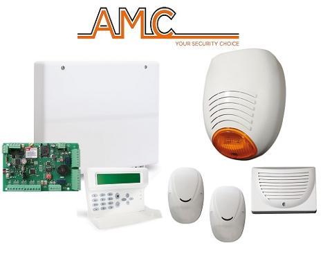Kit Centrale C24PLUS con Tastiera e Combinatore GSM a Bordo AMC Elettronica 501