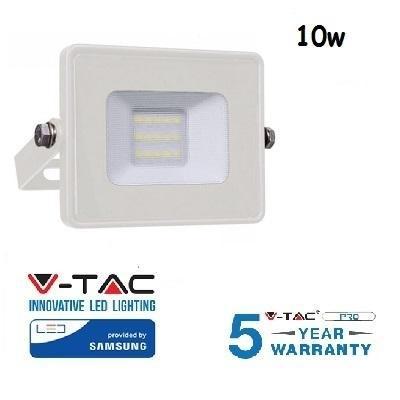 Proiettore Led 10W Luce Calda SLIM 800 Lumen PRO V-TAC
