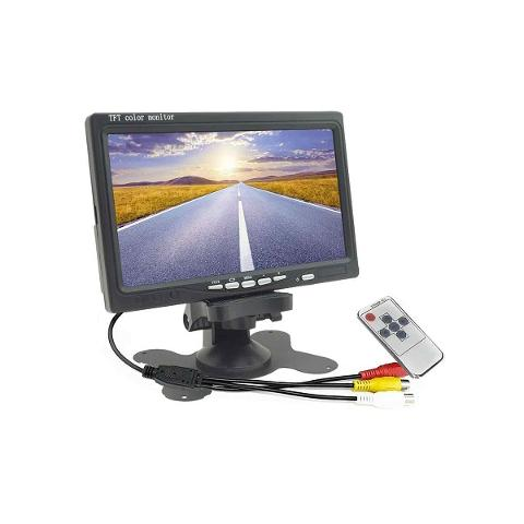 Monitor LCD 7 Pollici a Colori con Staffa  HD