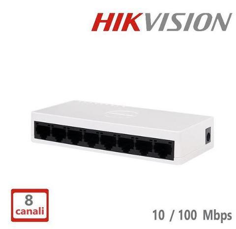 Switch 8 Porte 10/100 Hikvision