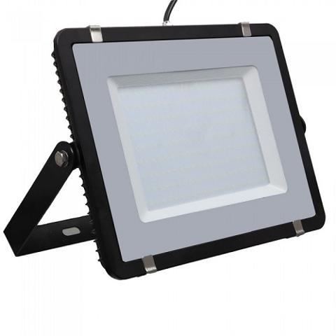 Proiettore Led IP65 200W Luce Fredda Nero SLIM 16000 Lumen V-TAC 419