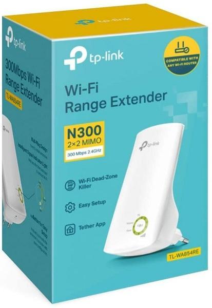 Ripetitore wifi N300 (Range Extender) con WPS TP-LINK TL-WA850RE