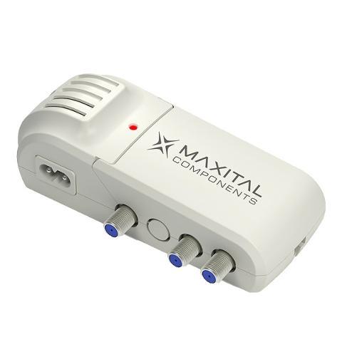 Amplificatore di Linea VHF+UHF 25/30dB 2 Uscite FTE Maximal TAM-VU2
