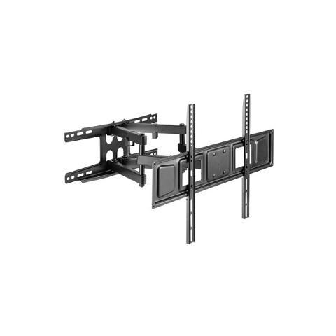 Supporto LCD 2 Snodi a Pantografo fino a 80 Pollici Portata Max 45Kg NVS