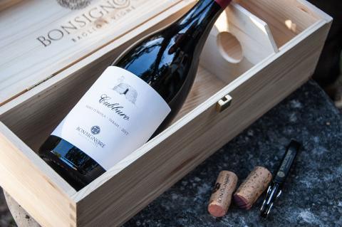 CUBBURO BONSIGNORE baglio e vigne Nero d'Avola e Syrah