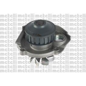 Pompa acqua METELLI Fiat Cinquecento sporting, Panda 1.0 /1.1/ Punto 55 1.0 / 60/75  1.2 / Seicento 1.1 / Uno          Lancia Y  1.1 / 1.2 /Y10  1.0 1.1